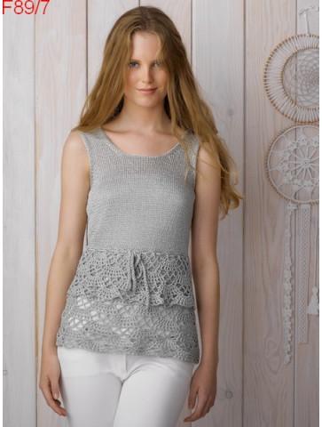 Modèle Tunique Femme Laine Katia coton Lunis