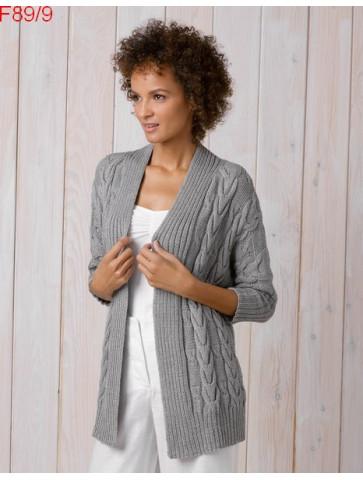 Modèle Veste Femme Laine Katia coton Cotton Cashmère