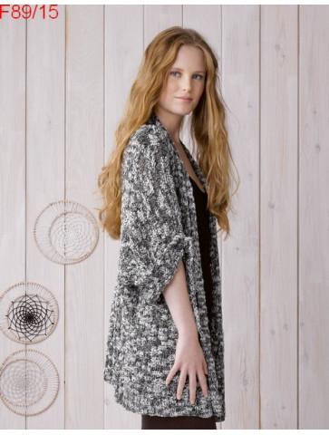Modèle Veste Femme Laine Katia coton Créta