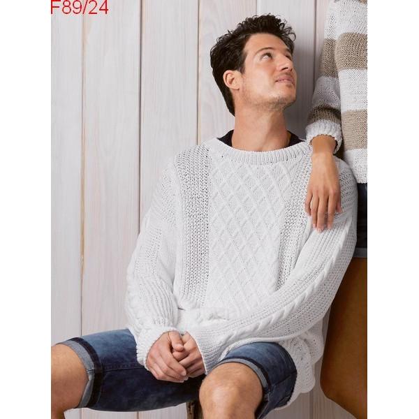 Modèle Pull Homme Laine Katia coton Cotton 100%