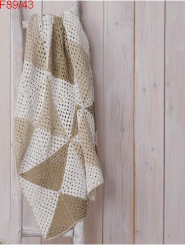 Modèle Plaid Laine Katia coton Linen
