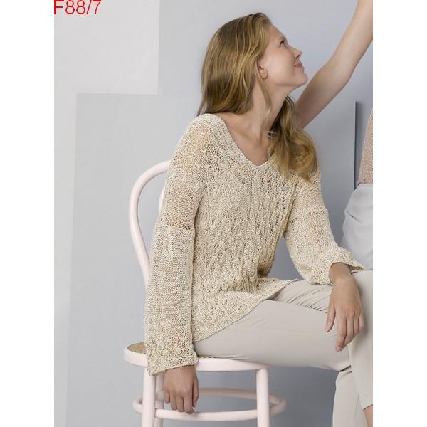 Modèle Tunique Femme Laine Katia coton Ibis