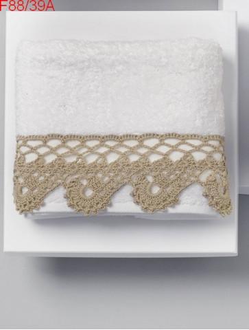 Modèle Ornement de serviette en déco Laine Katia coton Mississippi 3 ou Cotton Stretch