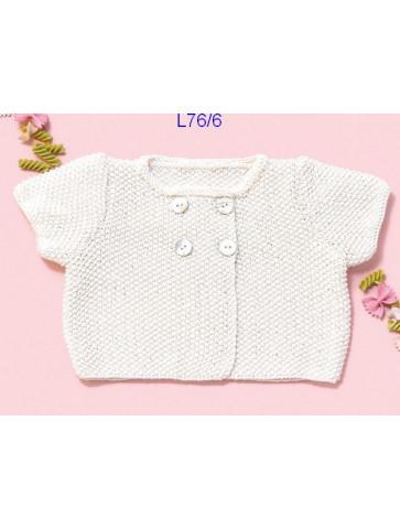 Modèle Veste bébé Laine Katia coton Cotton Cashmere