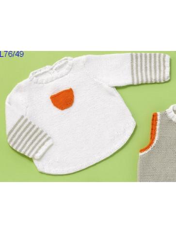 Modèle Tunique bébé Laine Katia coton Cotton Stretch