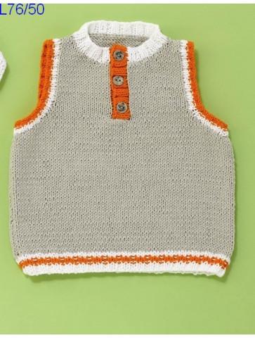 Modèle Débardeur bébé Laine Katia coton Cotton Stretch