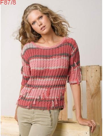 Modèle Pull Femme Laine Katia coton Alabama Color