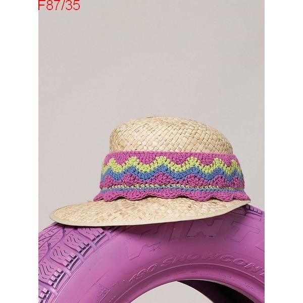 Modèle Volant pour chapeau de paille en accessoires Laine Katia coton Missouri