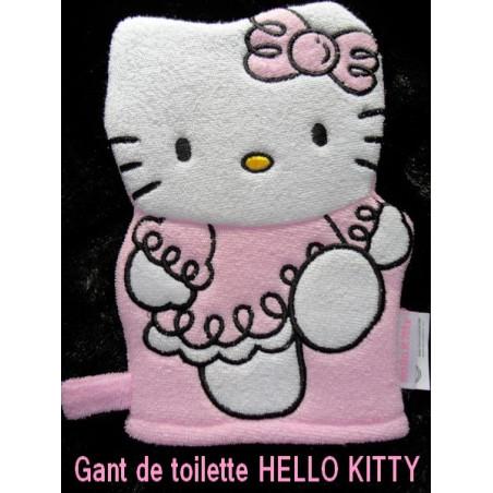 Gant de toilette Hello Kitty