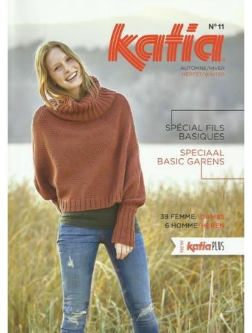 Catalogue Katia Spéciale Fils Basiques n°11