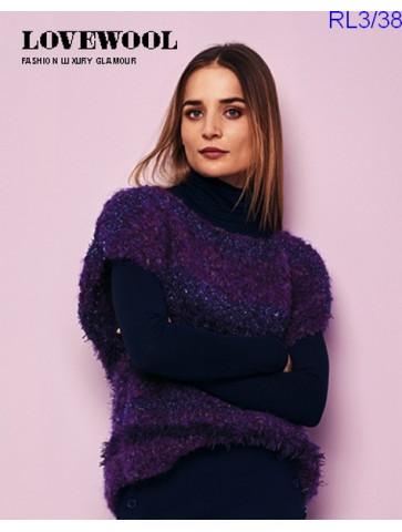 Modèle Pull Femme Laine Rico Design Fashion Luxury Glamour