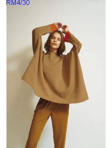 Modèle Pull Femme Laine Rico Design Essentials Merino DK
