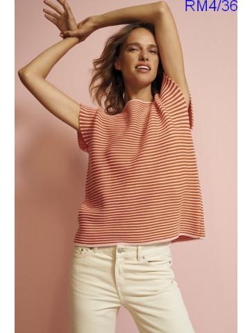 Modèle Top Femme Laine Rico Design Essentials Merino DK