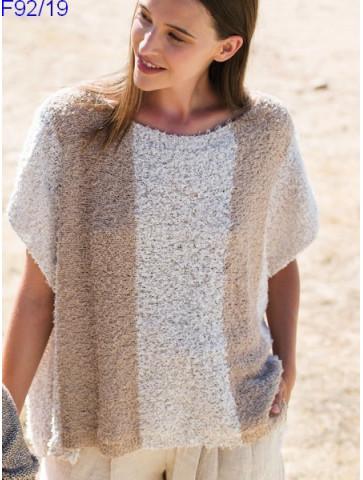 Modèle Tunique Femme Laine Katia coton Oasis