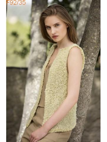 Modèle Veste Femme Laine Katia coton Oasis