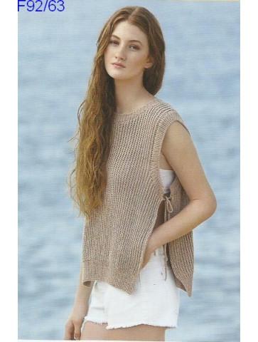 Modèle Top Femme Laine Katia coton Fair Cotton
