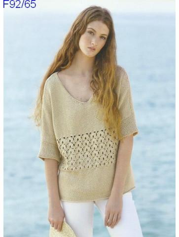 Modèle Tunique Femme Laine Katia coton Fair Cotton
