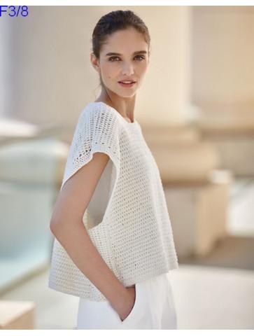 Modèle Top Femme Laine Katia Concept coton All Seasons Cotton
