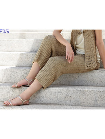 Modèle Pantalon Femme Laine Katia coton Silk Cotton