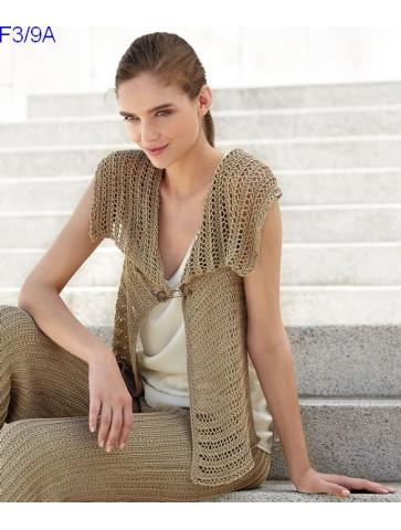 Modèle Veste Femme Laine Katia coton Silk Cotton