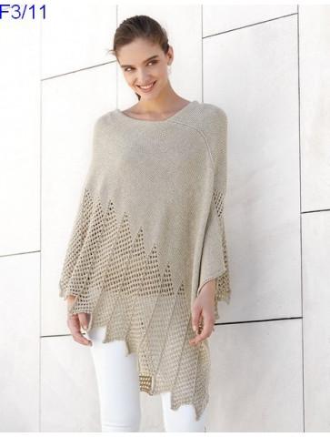 Modèle Poncho Femme Laine Katia Concept coton Cotton Yak