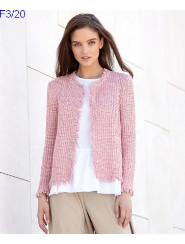 Modèle Veste Femme Laine Katia Concept coton Silk Viscose