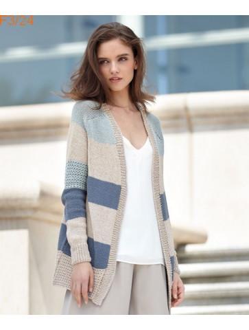 Modèle Veste Femme Laine Katia Concept coton Cotton Yak