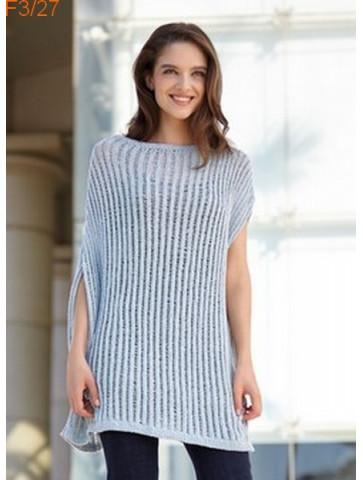 Modèle Poncho Femme Laine Katia Concept coton Silk Viscose
