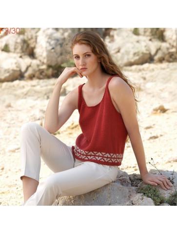 Modèle Débardeur Femme Laine Katia Concept coton Cotton Yak