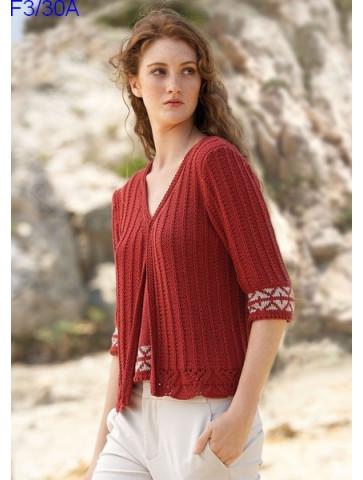 Modèle Gilet Femme Laine Katia Concept coton Cotton Yak