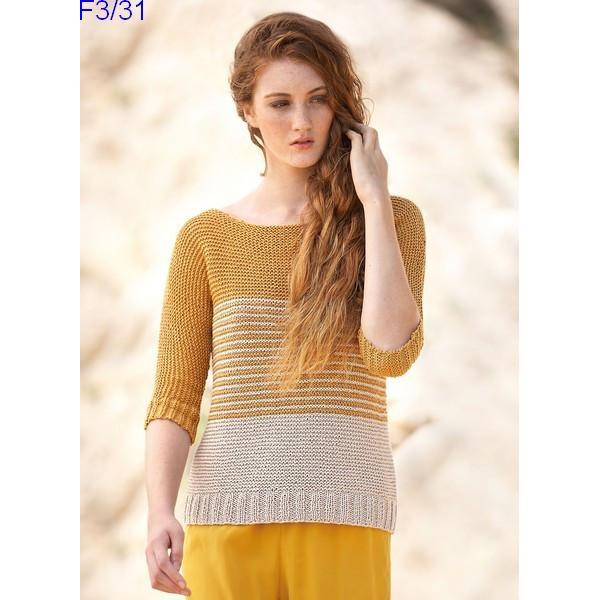 Modèle Pull Femme Laine Katia Concept coton All Seasons Cotton