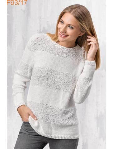 Modèle Pull Femme Laine Katia coton Oasis et Cotton 100%
