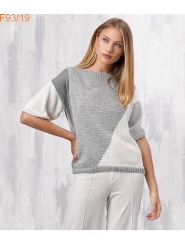 Modèle Pull Femme Laine Katia coton Louisiana et Cotton 100%