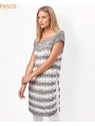 Modèle Tunique Femme Laine Katia coton Singapur