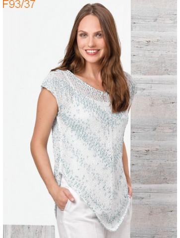 Modèle Pull Femme Laine Katia coton Malibu