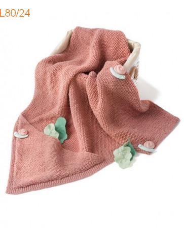 Modèle couverture Bébé Laine Katia concept coton Cotton Yak