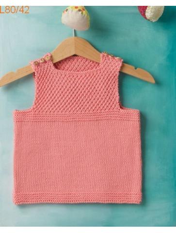 Modèle Top Bébé Laine Katia coton Fair Cotton