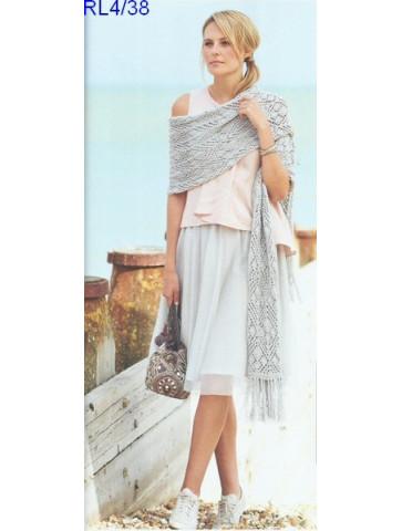 Modèle Etole Femme Laine Rico Design Fashion Cotton Métallisé