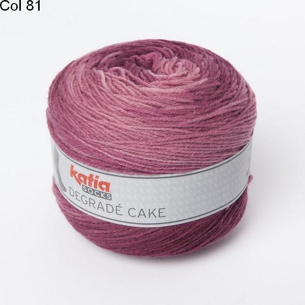 Laine Katia Degrade Cake Socks