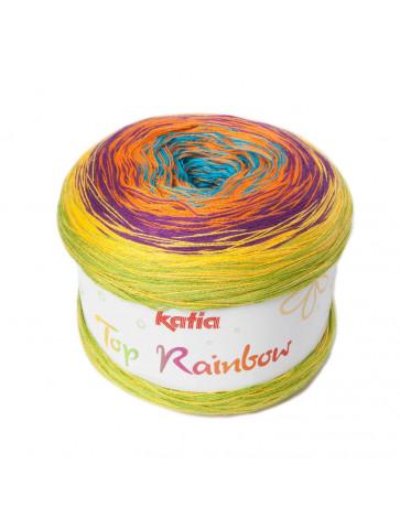 Laine Katia Coton Top Rainbow