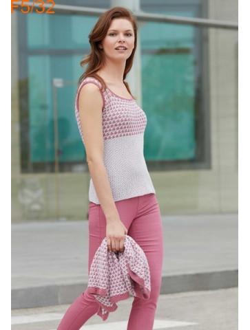 Modèle Pull Femme Laine Katia Concept coton Cotton Alpaca