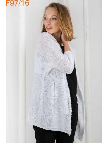 Modèle Veste Femme Laine Katia coton Montecarlo et Tencel Cotton