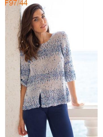 Modèle Tunique Femme Laine Katia coton Malibu Plus