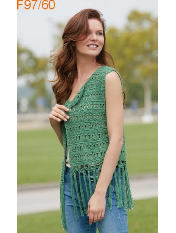 Modèle Veste Femme Laine Katia coton Recycled