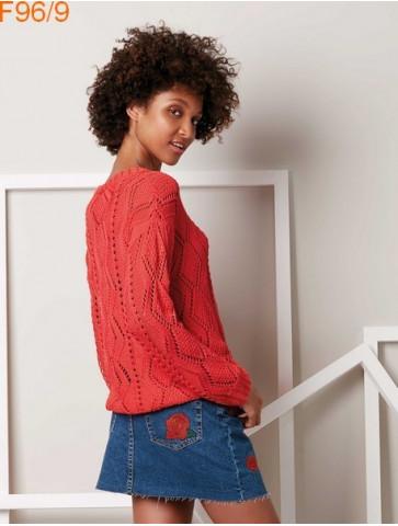 Modèle Pull Femme Laine Katia coton Tencel Cotton