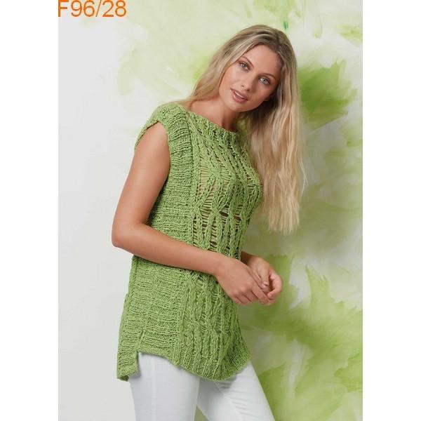 Modèle Pull Femme Laine Katia coton Hawaii