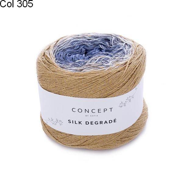 Laine Katia Concept Coton Silk Dégrade