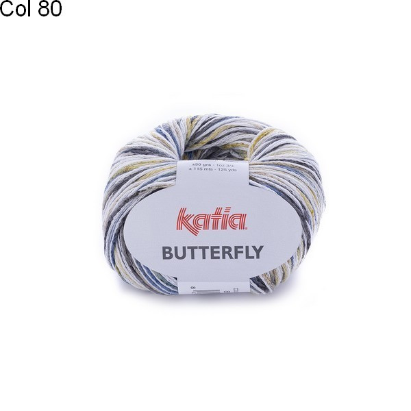 Laine Katia Coton Butterfly
