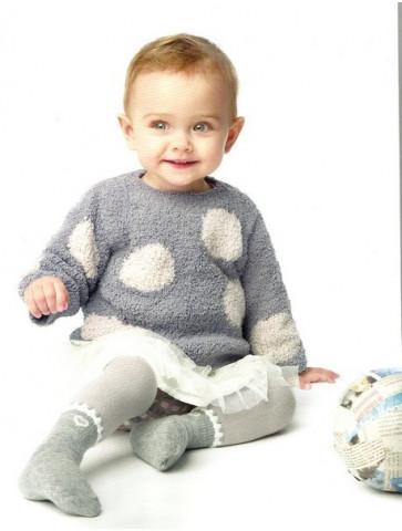 Laine Katia Chantilly pull bébé