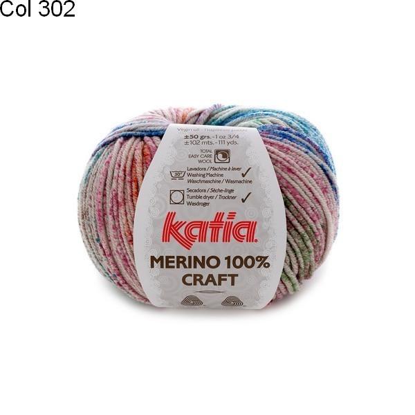 Laine Katia Merino 100% Craft